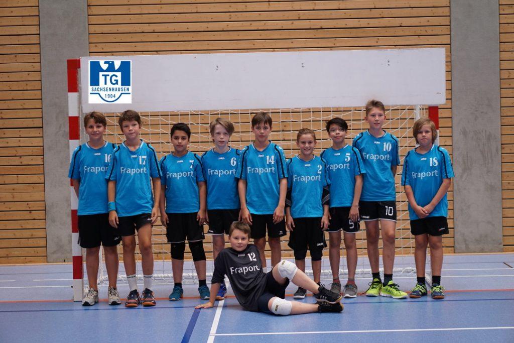 D-Jugend Mannschaft